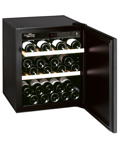Elegance_Studio_Fitted_Cabinet transtherm world leader in high end wine cooler refrigerators  at eliteediting.co